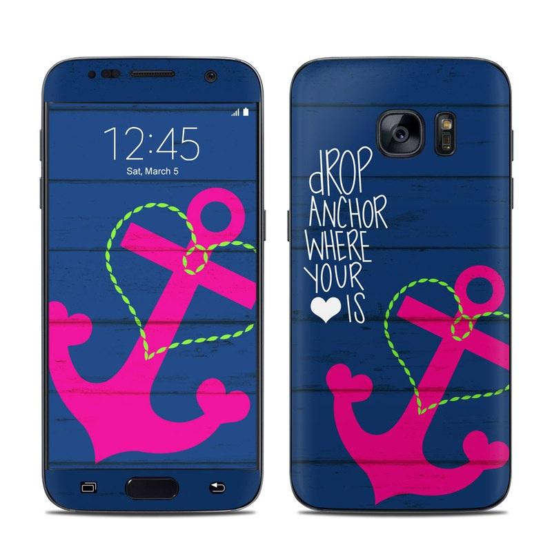 Drop Anchor Galaxy S7 Skin