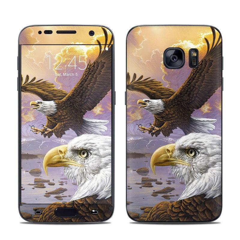 Eagle Galaxy S7 Skin