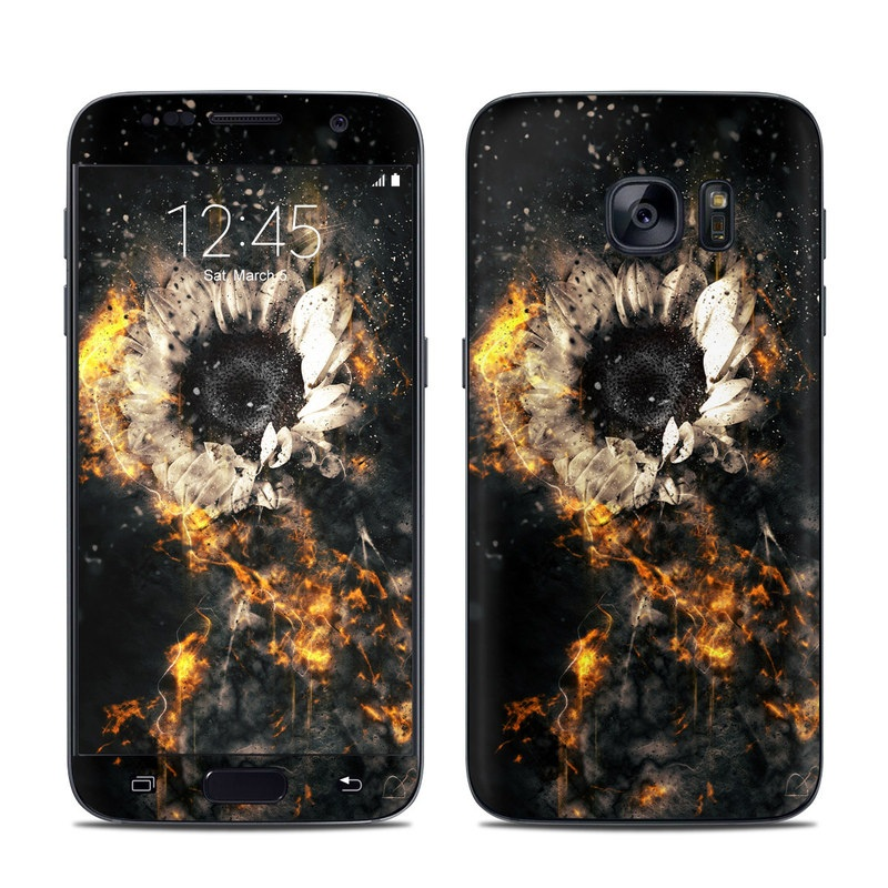 Flower Fury Galaxy S7 Skin