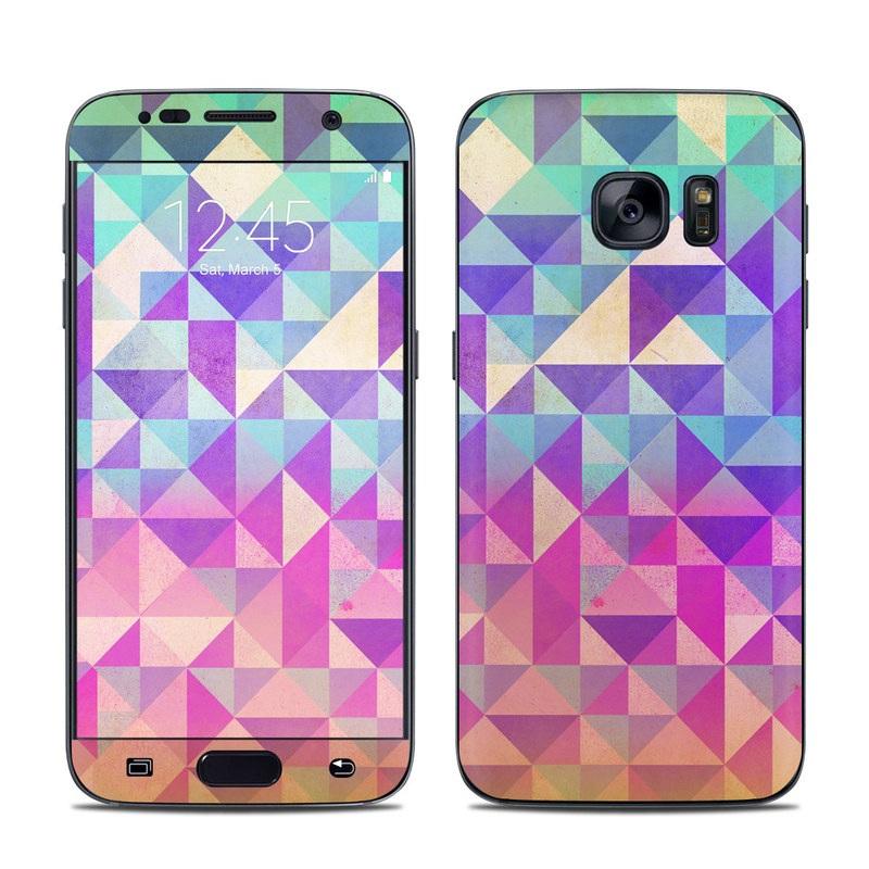Fragments Galaxy S7 Skin