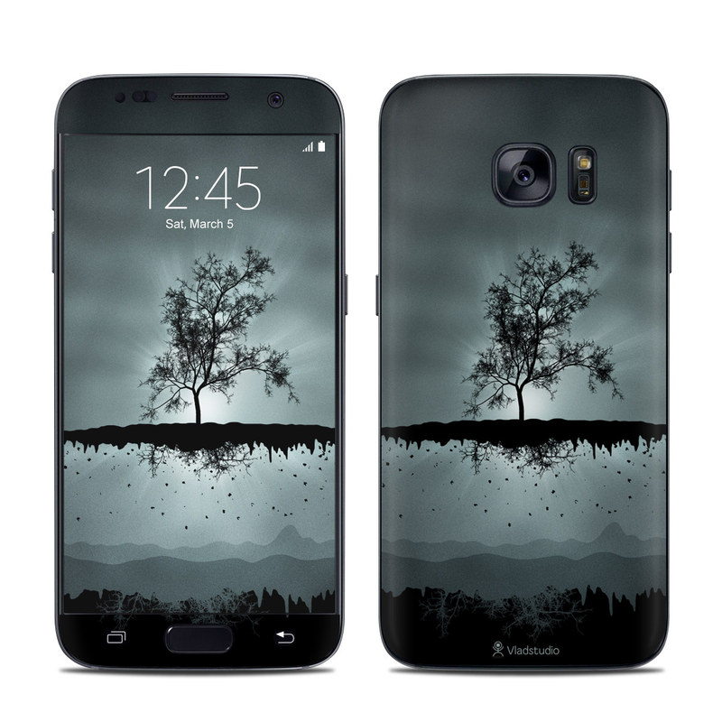 Flying Tree Black Samsung Galaxy S7 Skin