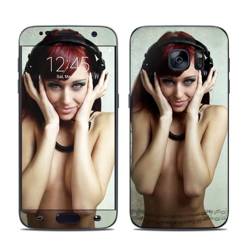 Headphones Galaxy S7 Skin