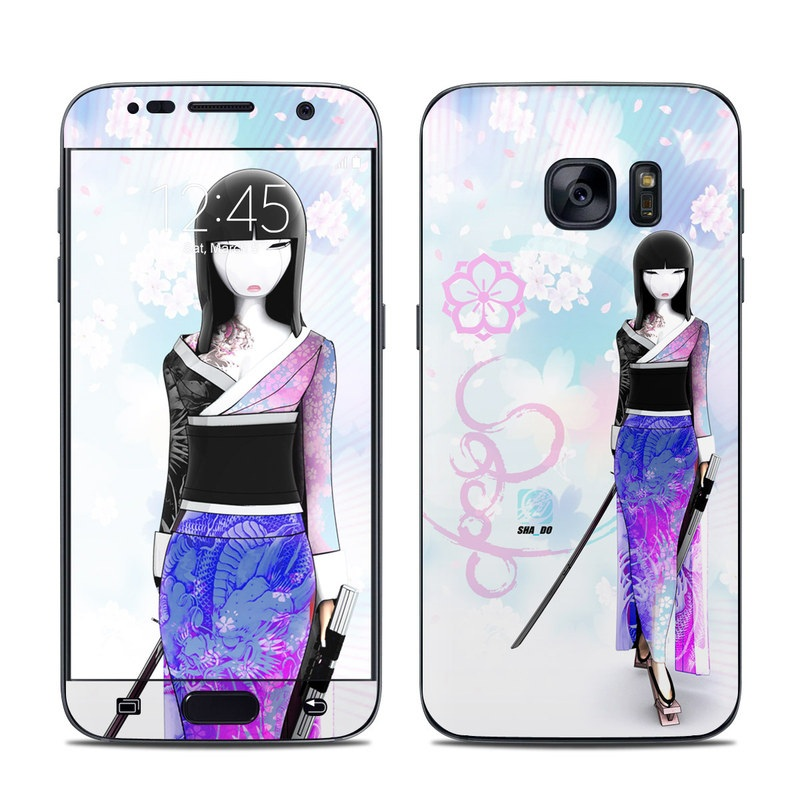 Kokeshi Haru Galaxy S7 Skin