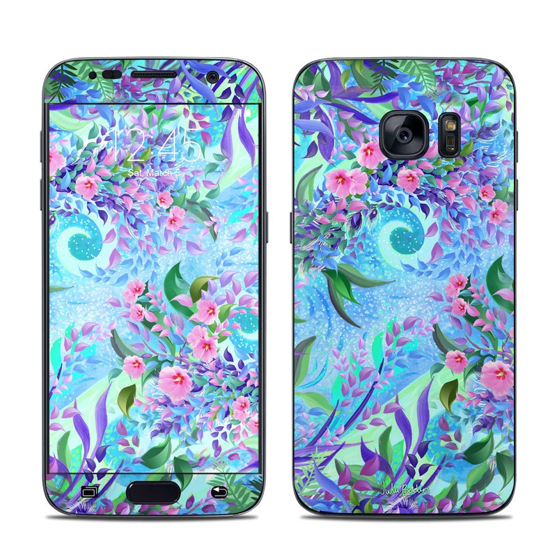 Lavender Flowers Galaxy S7 Skin