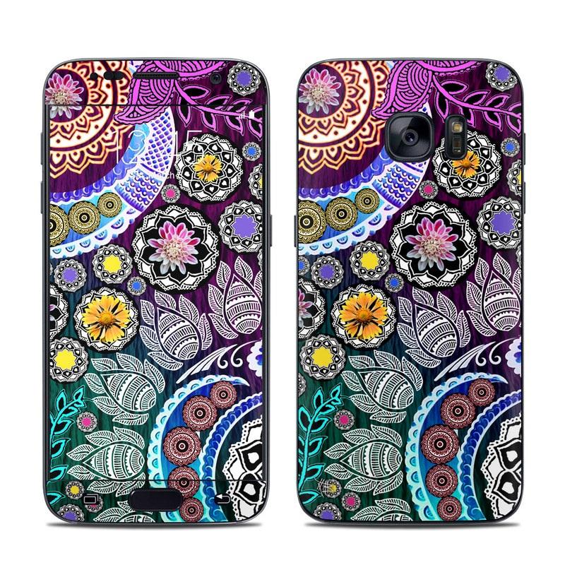Mehndi Garden Galaxy S7 Skin
