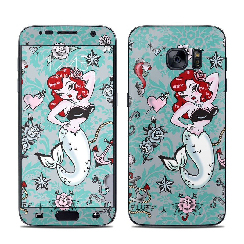 Molly Mermaid Galaxy S7 Skin