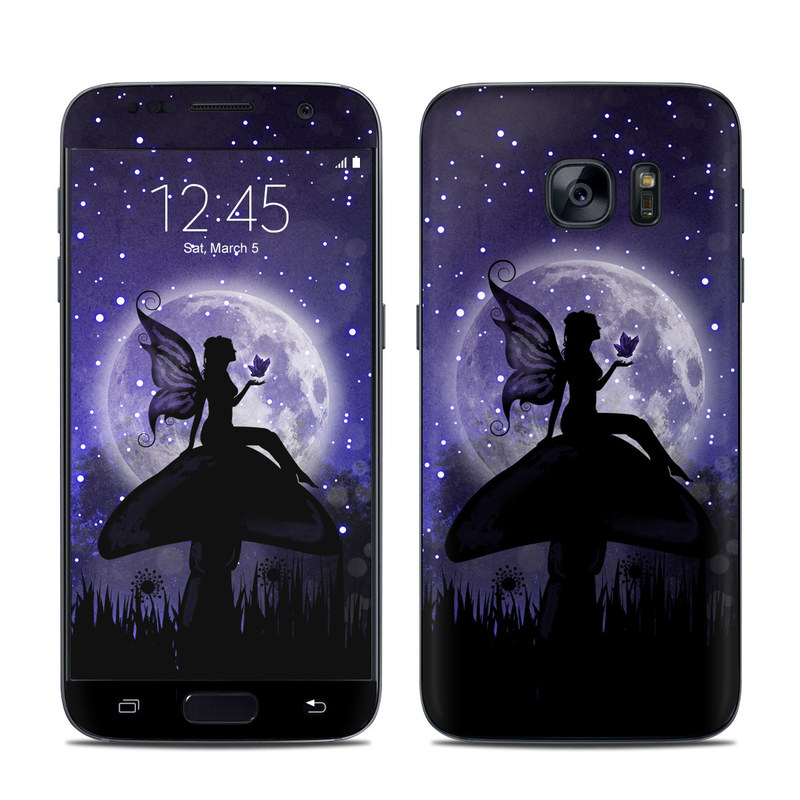 Moonlit Fairy Galaxy S7 Skin