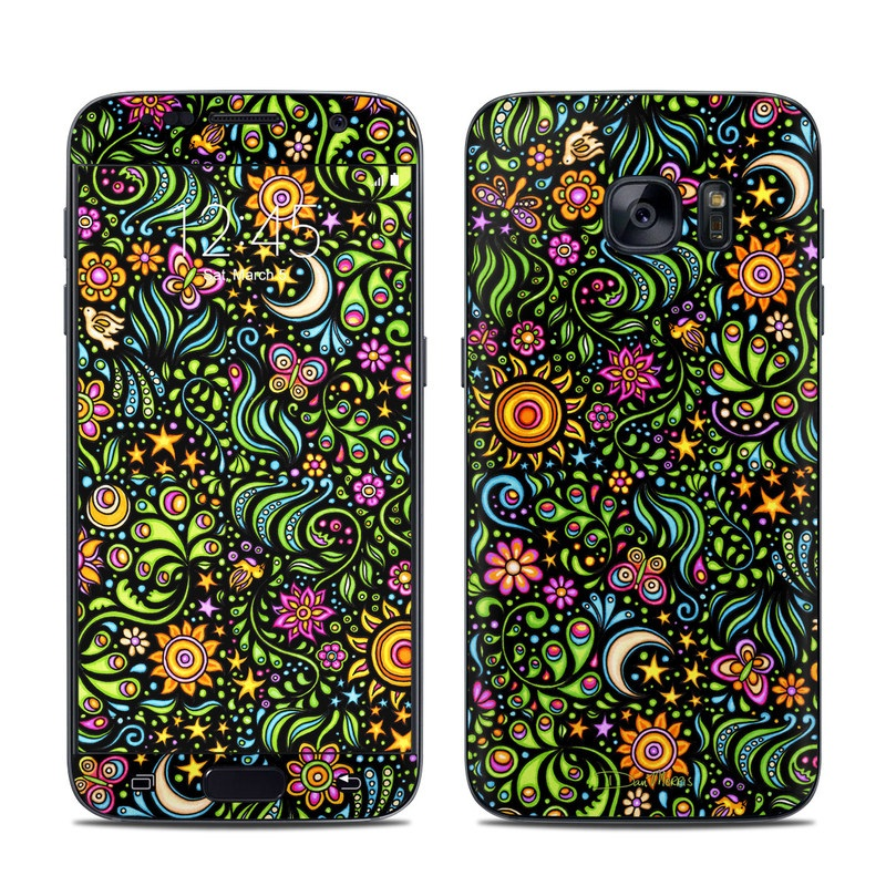 Nature Ditzy Galaxy S7 Skin