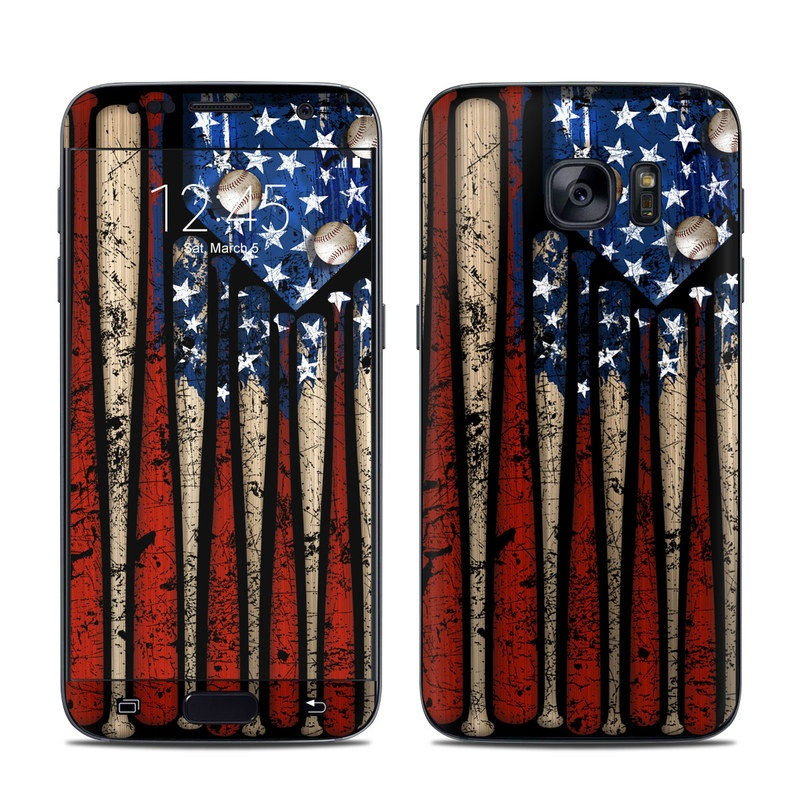 Old Glory Galaxy S7 Skin