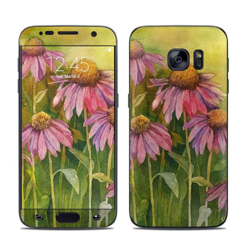 Prairie Coneflower Galaxy S7 Skin