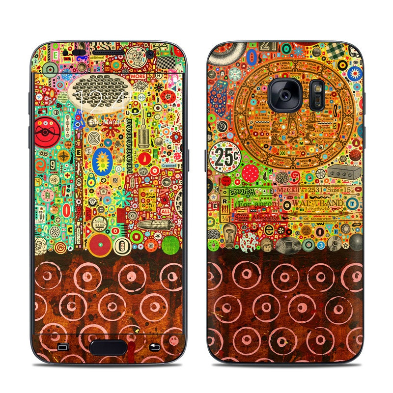 Percolations Galaxy S7 Skin