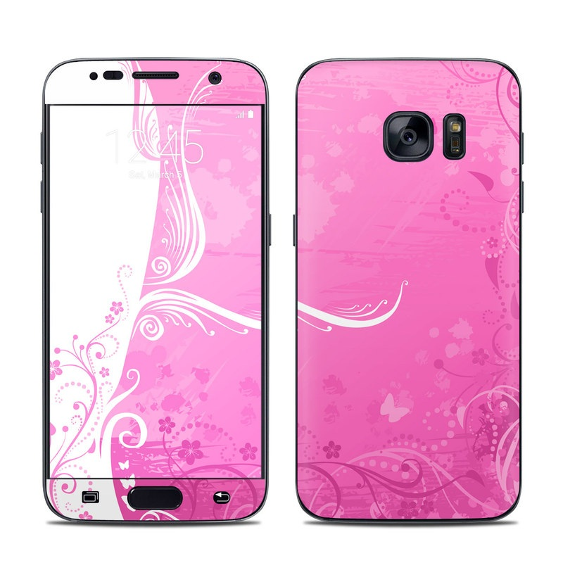 Pink Crush Galaxy S7 Skin