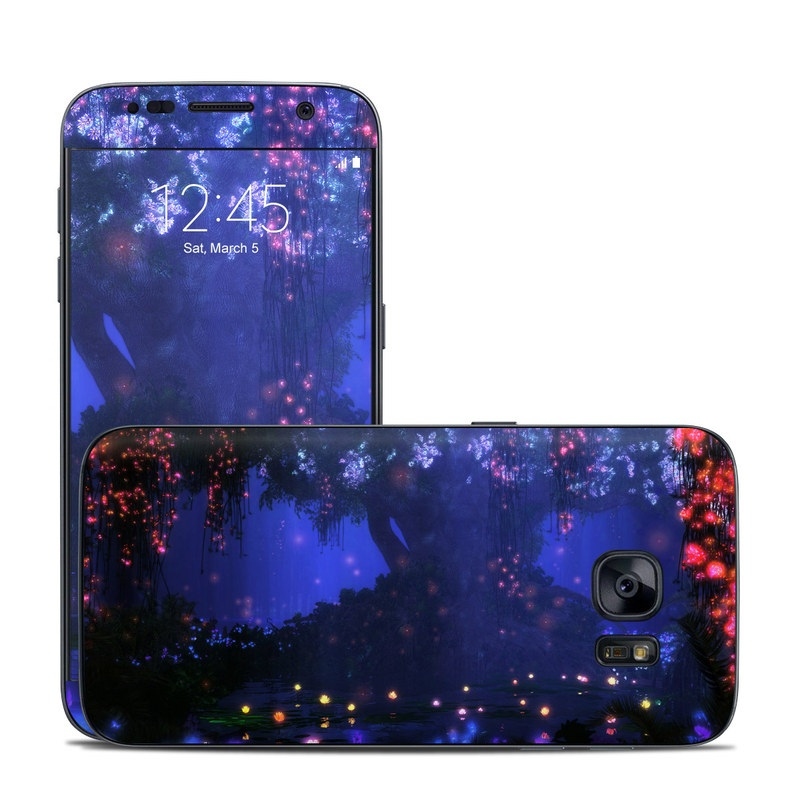 Satori Night Galaxy S7 Skin