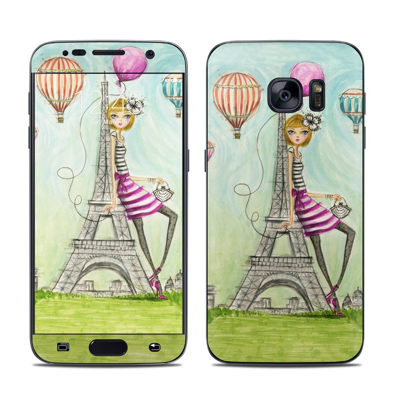 The Sights Paris Galaxy S7 Skin