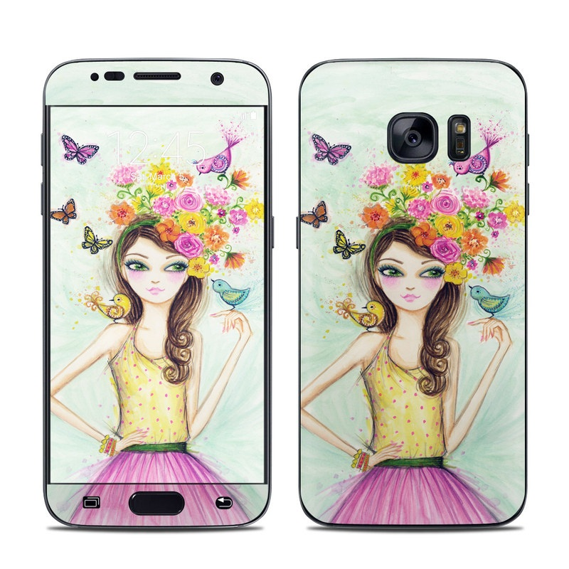 Spring Time Galaxy S7 Skin