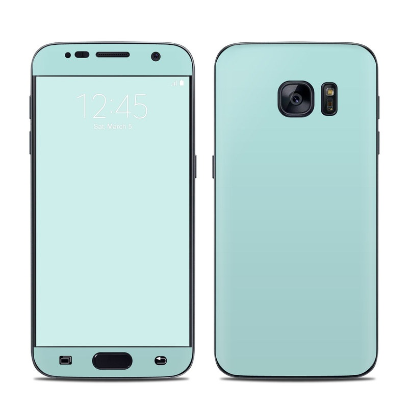 Solid State Mint Galaxy S7 Skin