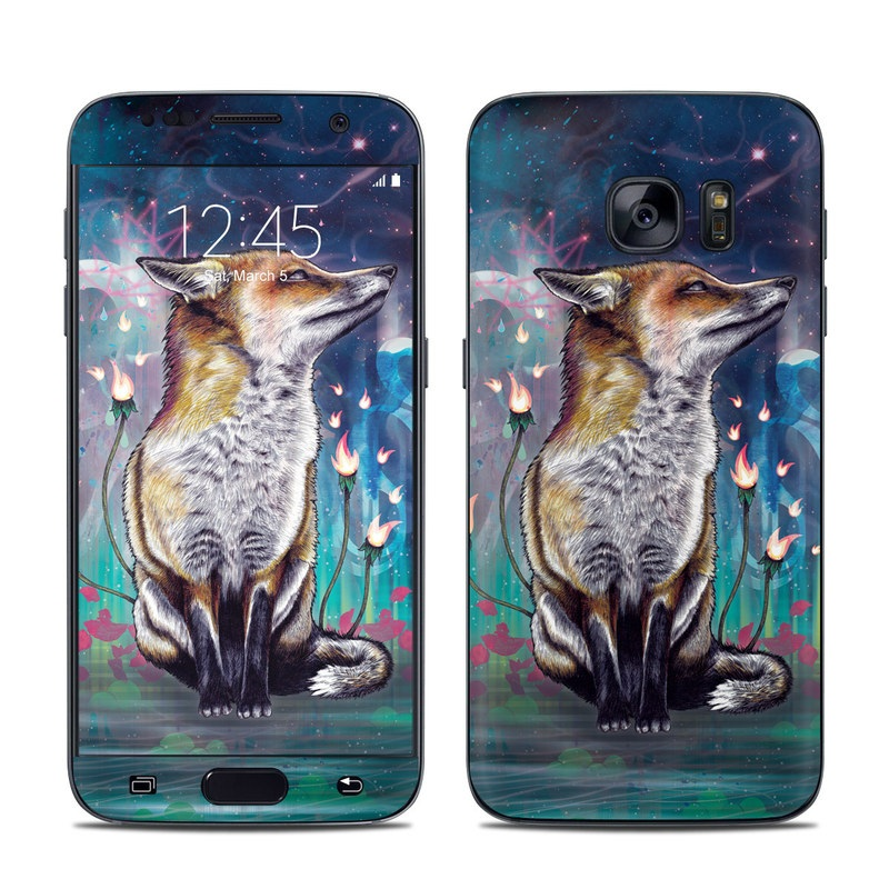 There is a Light Galaxy S7 Skin