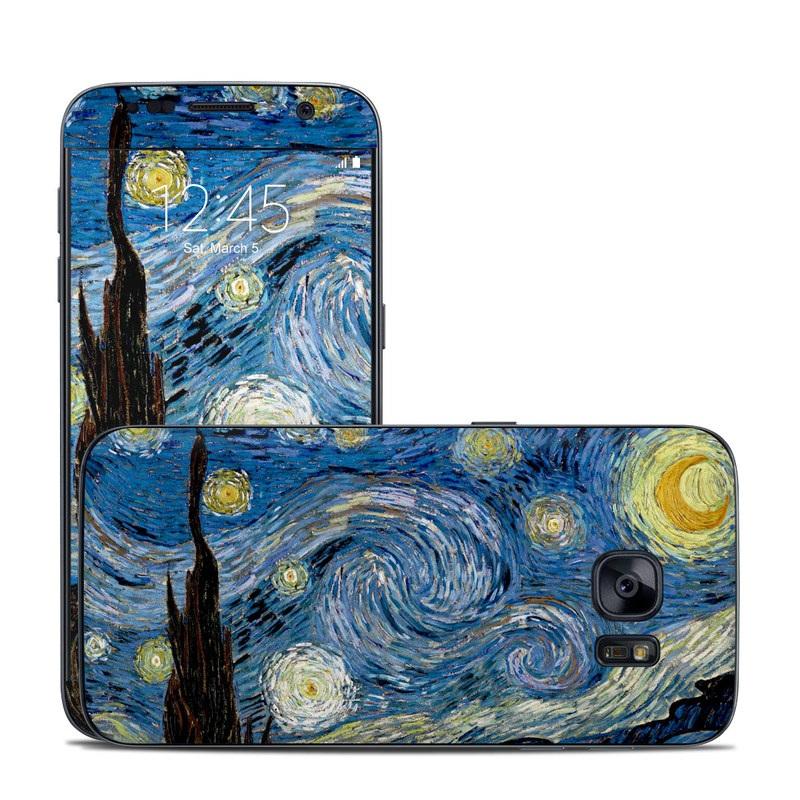 Starry Night Galaxy S7 Skin