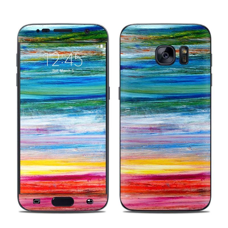 Waterfall Galaxy S7 Skin