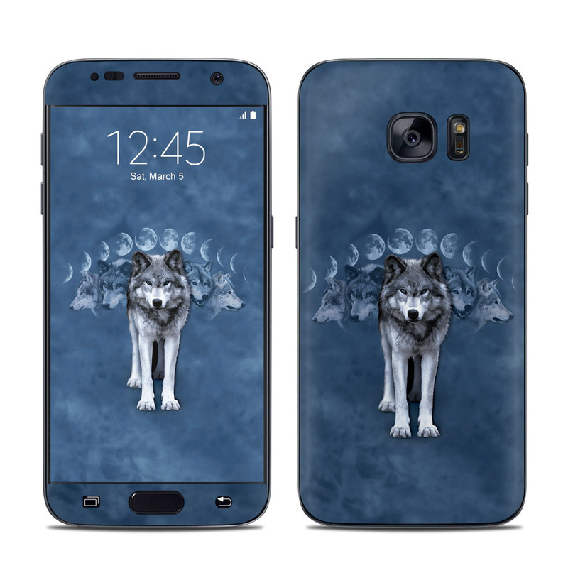 Wolf Cycle Galaxy S7 Skin