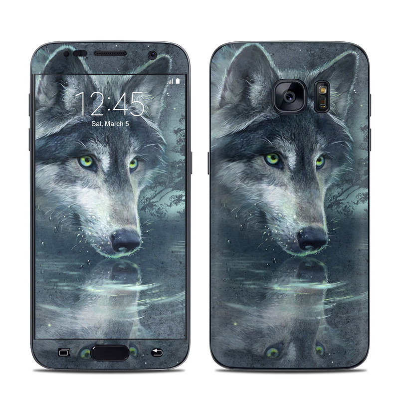 Wolf Reflection Galaxy S7 Skin