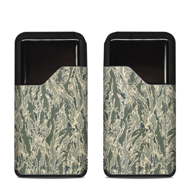 Suorin Air Skin design of Pattern, Grass, Plant with gray, green colors
