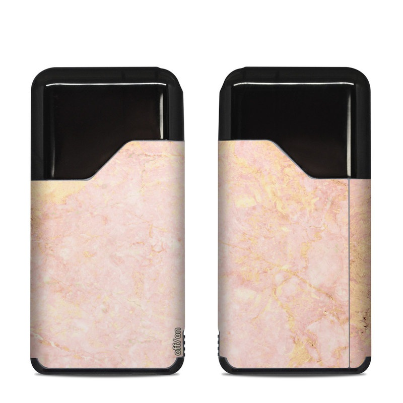 Suorin Air Skin design of Pink, Peach, Wallpaper, Pattern with pink, yellow, orange colors
