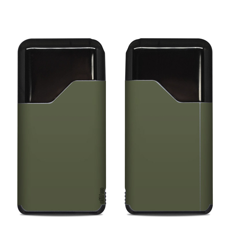 Suorin Air Skin design of Green, Brown, Text, Yellow, Grass, Font, Pattern, Beige with green colors