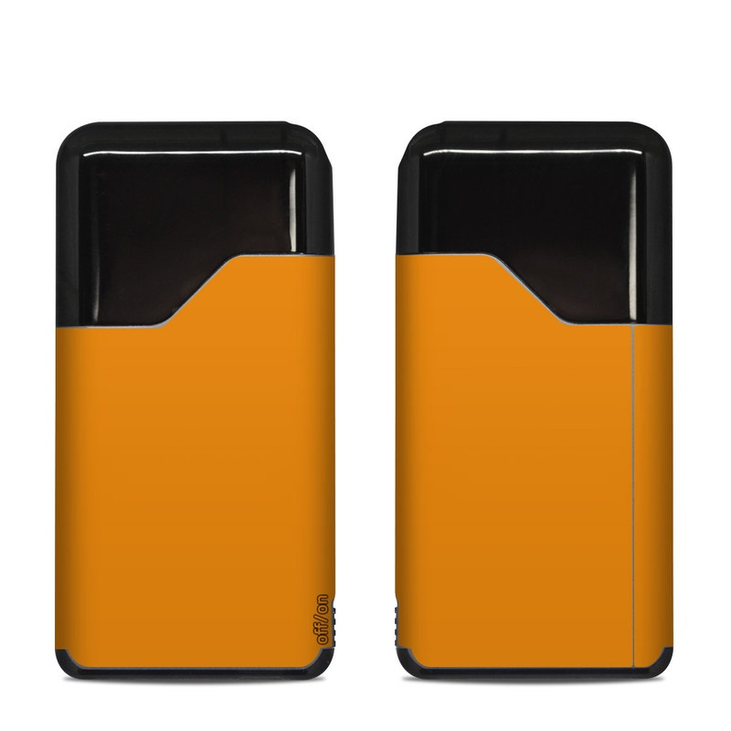 Suorin Air Skin design of Orange, Yellow, Brown, Text, Amber, Font, Peach with orange colors
