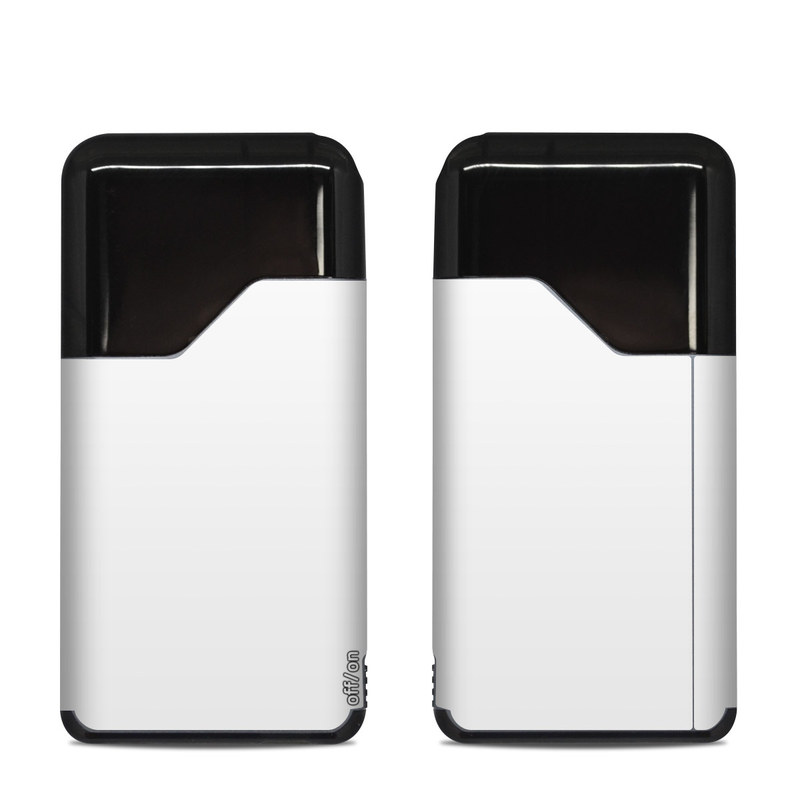 Suorin Air Skin design of White, Black, Line with white colors