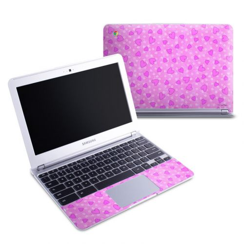 Candy Hearts Samsung Chromebook 1 Skin