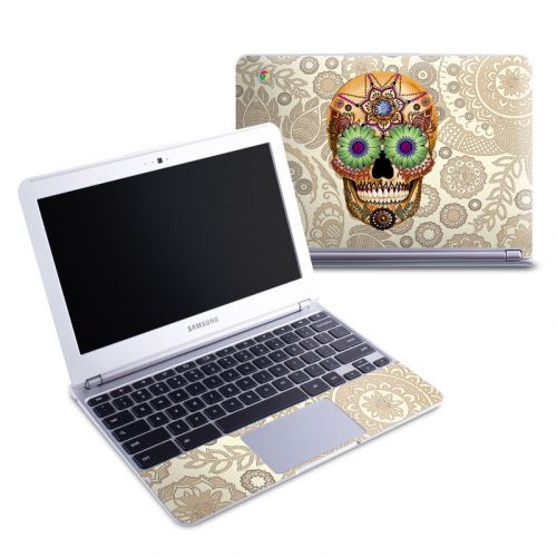 Sugar Skull Bone Samsung Chromebook 1 Skin