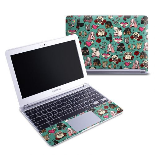 Tattoo Dogs Samsung Chromebook 1 Skin