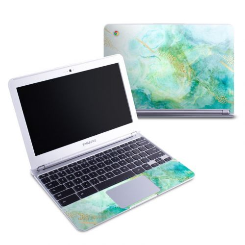 Winter Marble Samsung Chromebook 1 Skin