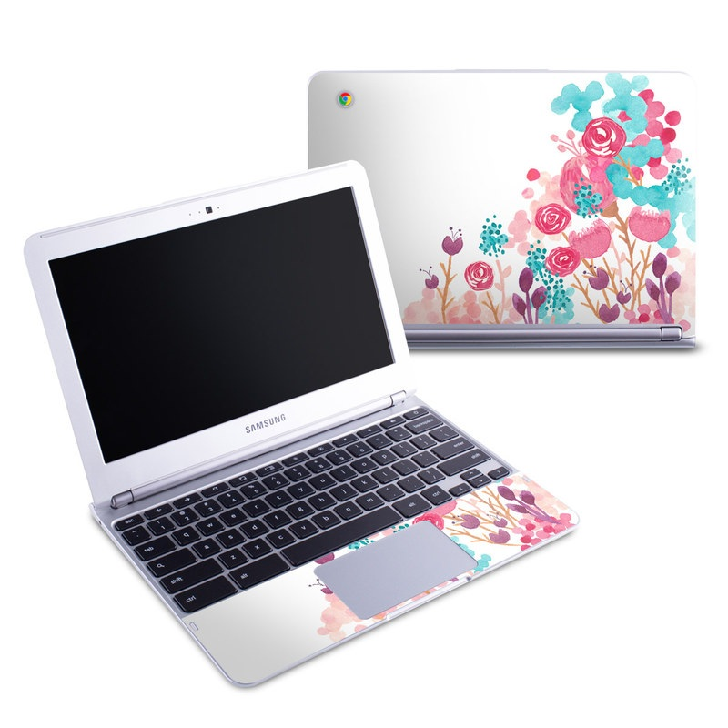 Blush Blossoms Samsung Chromebook 1 Skin