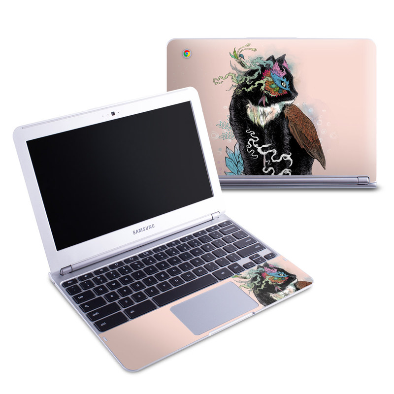 Black Magic Samsung Chromebook 1 Skin