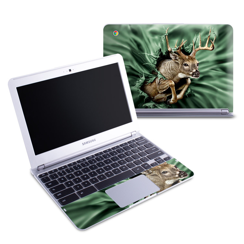 Break Through Deer Samsung Chromebook 1 Skin