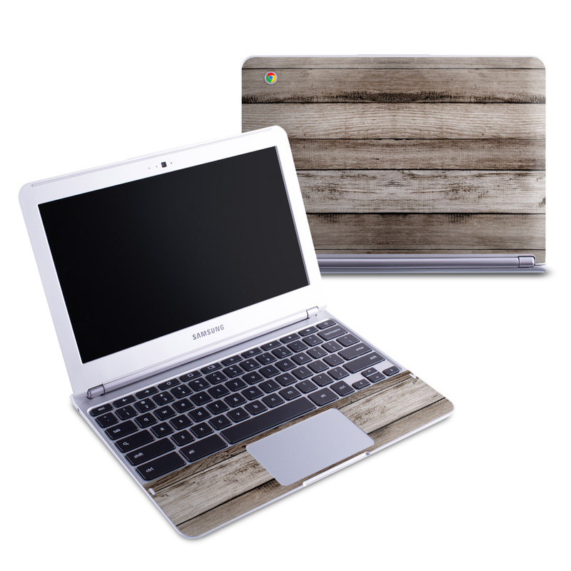 Barn Wood Samsung Chromebook 1 Skin