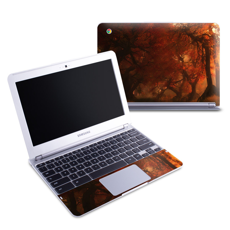 Canopy Creek Autumn Samsung Chromebook 1 Skin