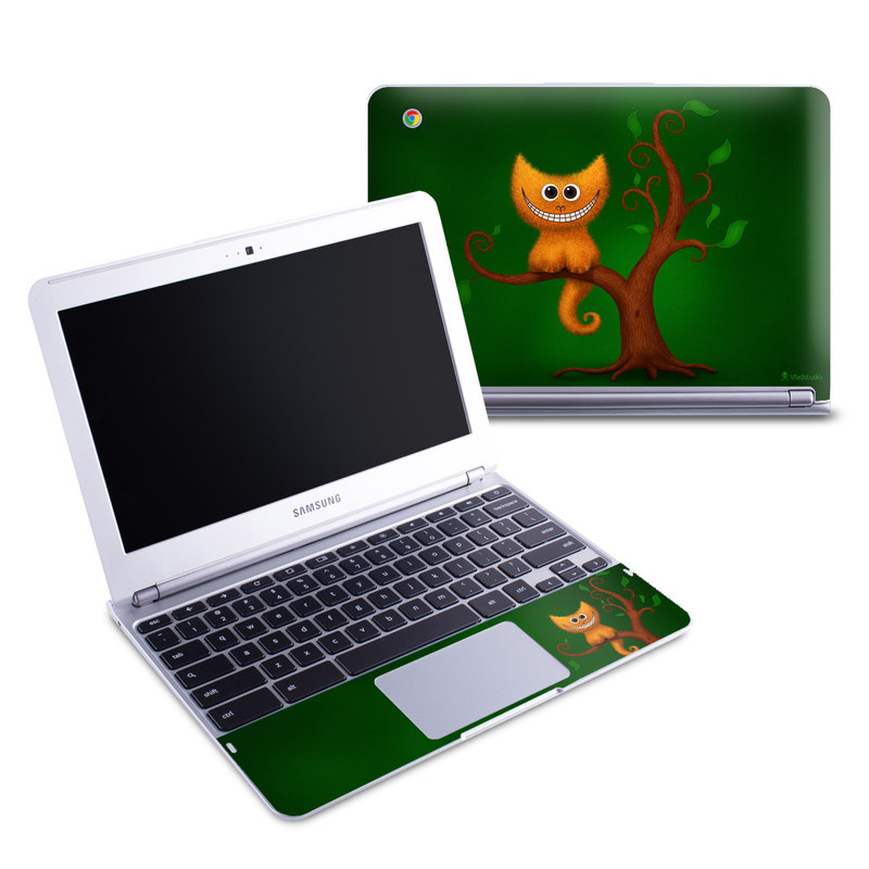 Cheshire Kitten Samsung Chromebook 1 Skin