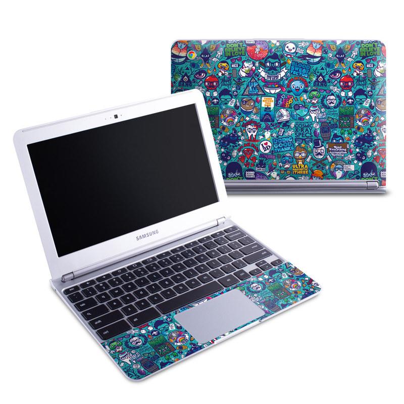 Cosmic Ray Samsung Chromebook 1 Skin