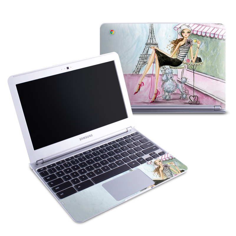 Cafe Paris Samsung Chromebook 1 Skin