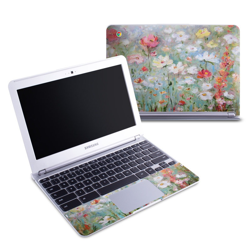 Flower Blooms Samsung Chromebook 1 Skin