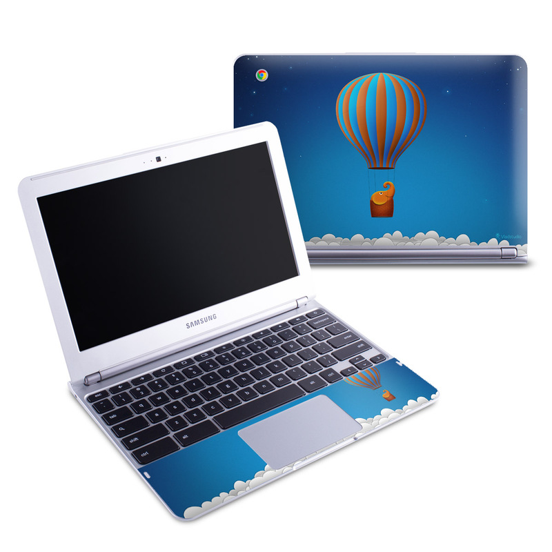 Flying Elephant Samsung Chromebook 1 Skin
