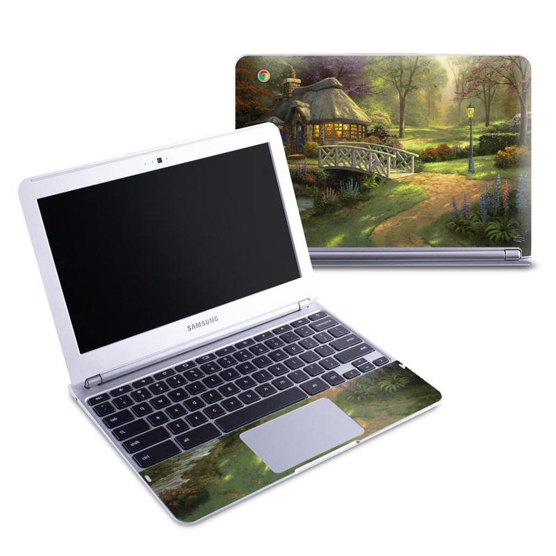 Friendship Cottage Samsung Chromebook 1 Skin