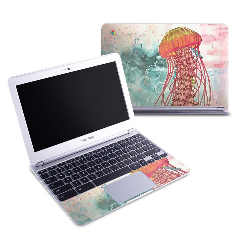 Jellyfish Samsung Chromebook 1 Skin