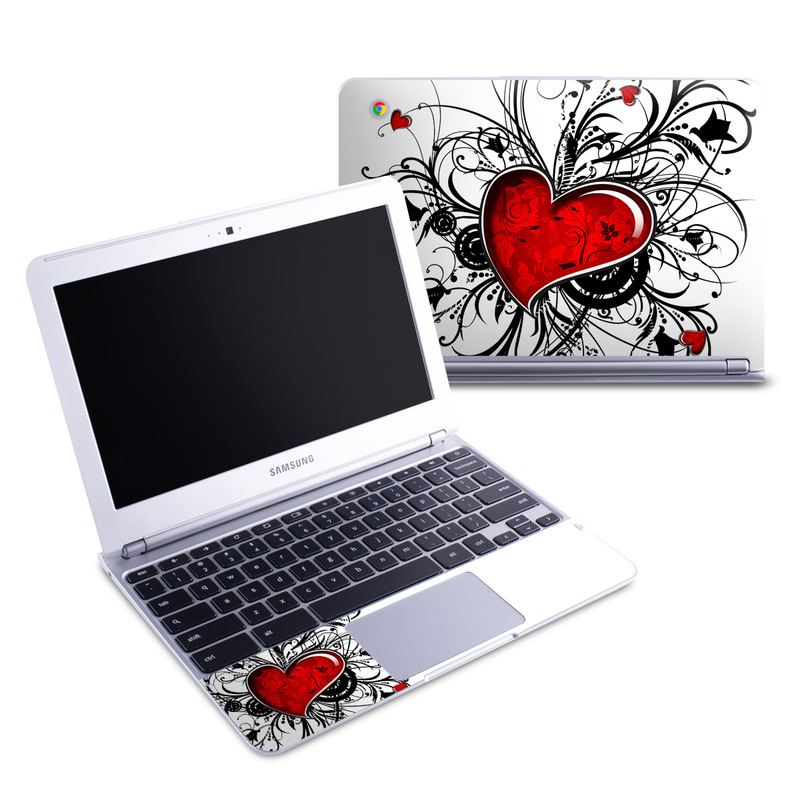 My Heart Samsung Chromebook 1 Skin