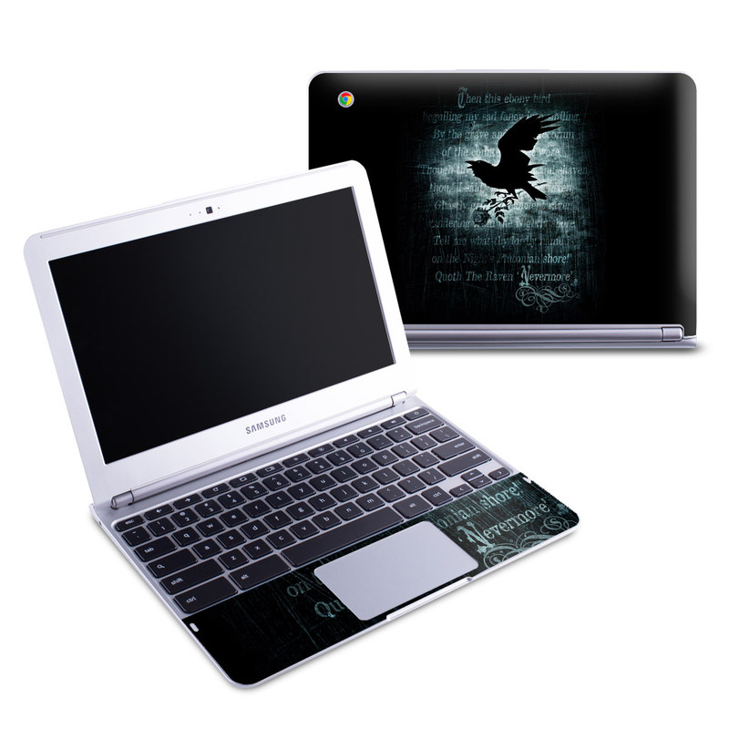 Nevermore Samsung Chromebook 1 Skin