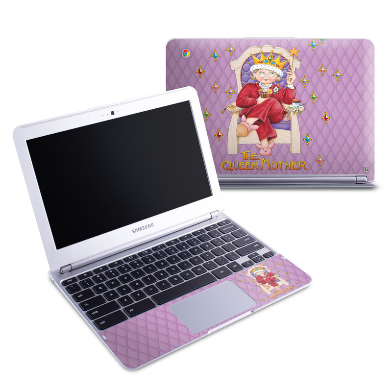 Queen Mother Samsung Chromebook 1 Skin