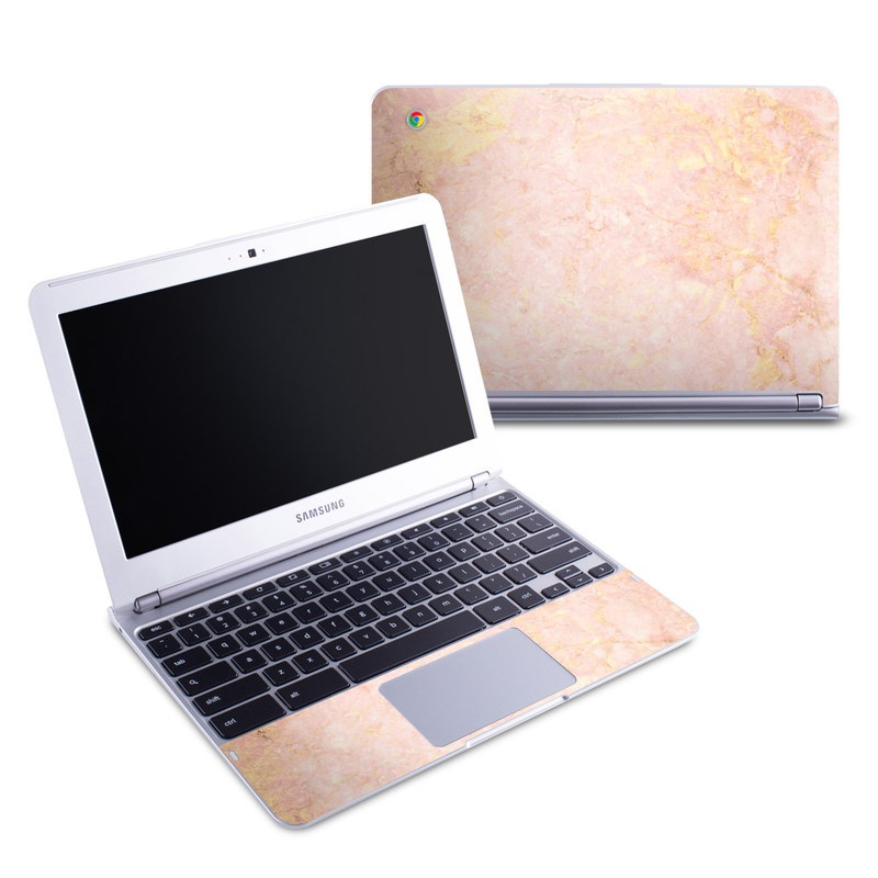 Rose Gold Marble Samsung Chromebook 1 Skin
